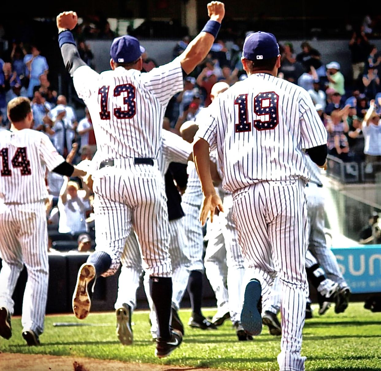 July 4th 2015 Yankees Beat The Tampa Rays 3 2 New York Yankees My Yankees Ny Yankees