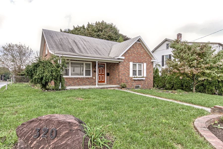 Rutherford 320 N 67th St Harrisburg Move In Ready 4 Bdrm Brick Cape Cod W Welcoming Front Porch Abundance Of Finished Liv House Styles Eat In Kitchen Remax