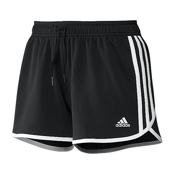 adidas Training End Zone Women's Knit Shorts ($15) ❤ liked on Polyvore  featuring activewear