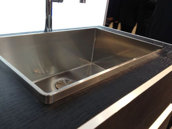 Blancos Attika sink fixture is hand made and slated to launch in the U.S. later this year.