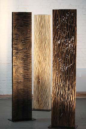 Moderne Holzskulpturen 2 holz reliefs skulpturen skulpturen aus holz