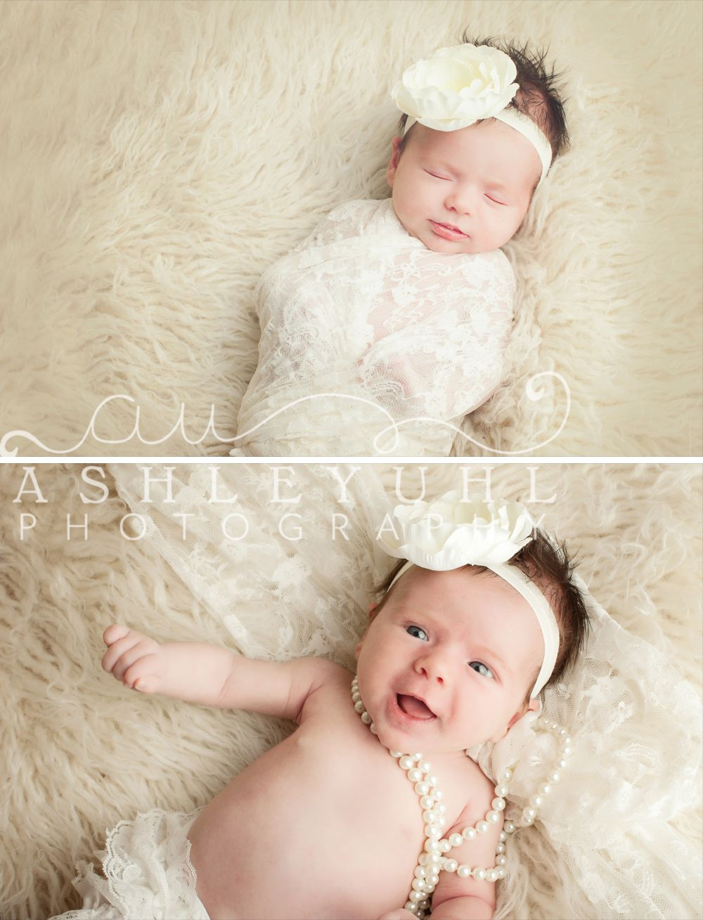 Photoshoot For 1 Month Baby Girl Newborn Photography