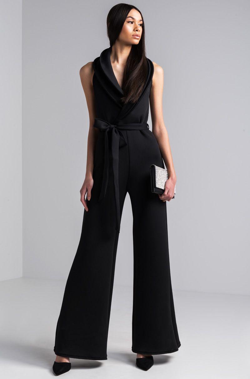 e79cf6a50ba9 The AKIRA label Leona Scuba Jumpsuit is the shortcut to fashion perfection