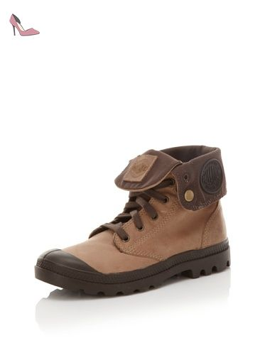 pretty nice check out quality Palladium Baggy Leather , Boots En Cuir, Marron Clair ...
