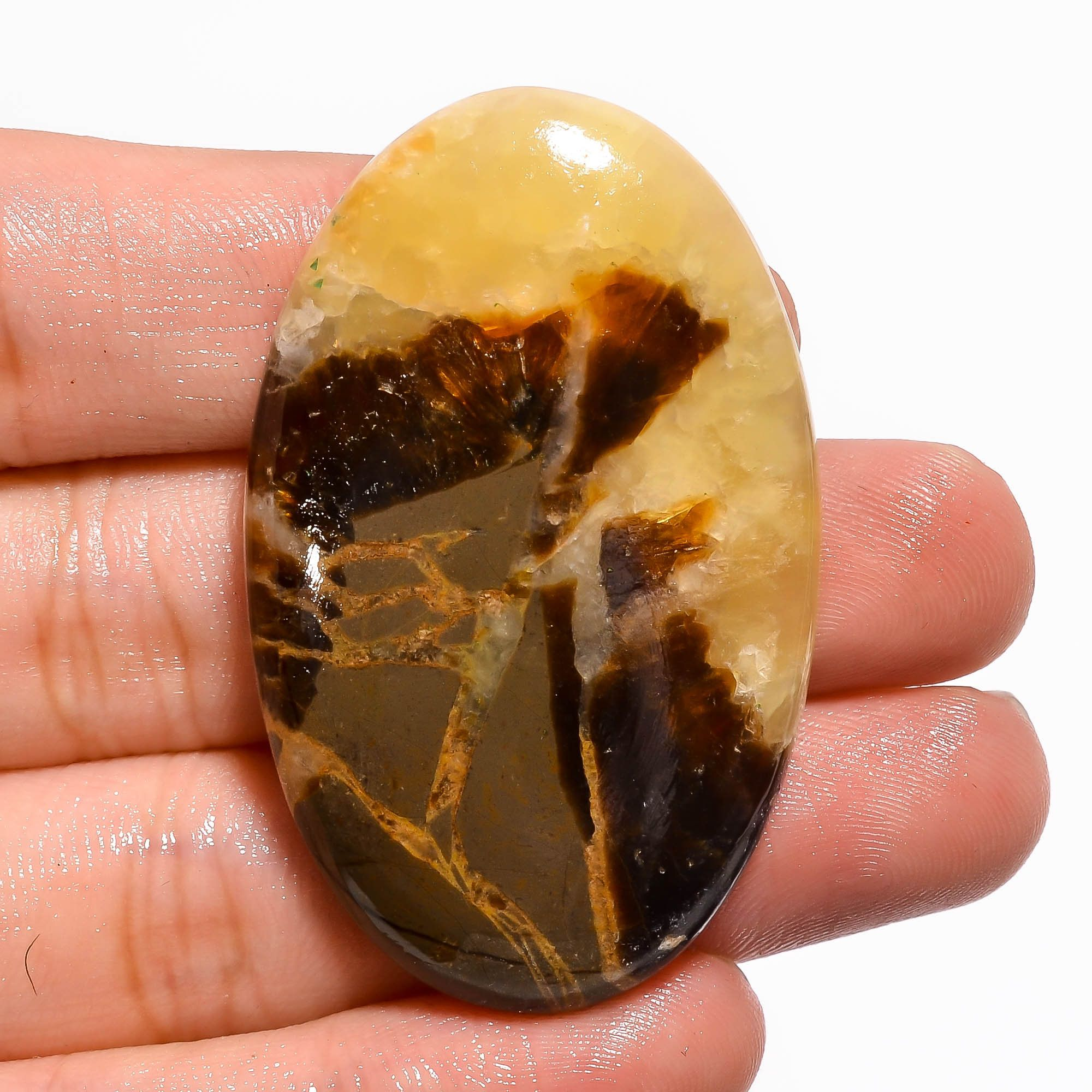 Attractive Superb Quality Natural  Tiger Eye Pear Shape Loose Gemstone For Making Jewelry! Cabochon