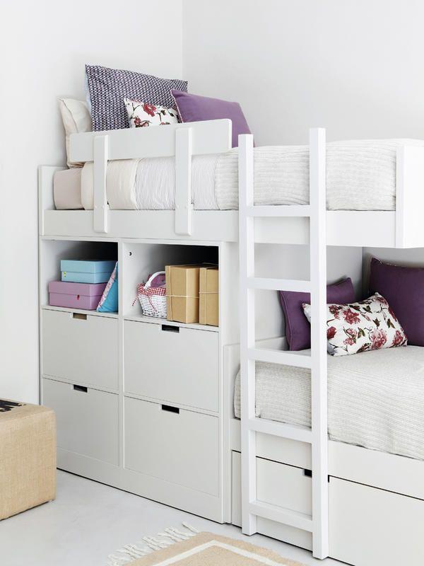 Duermes arriba o abajo c mo organizar un cuarto for Habitaciones con literas