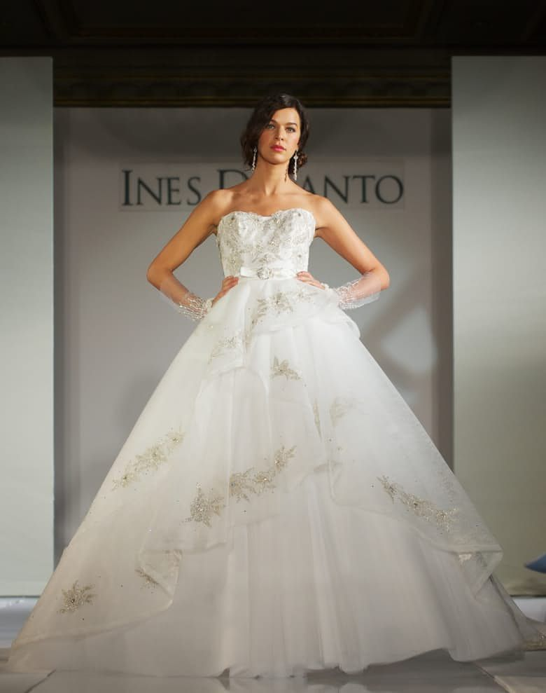 The Top 10 Most Por Wedding Dress Designers 3 Ines Di Santo