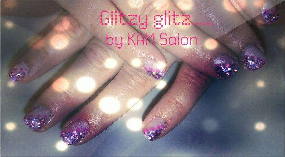 Glitzy glitz by KAM Salon | Glitz, Glitzy, Nails