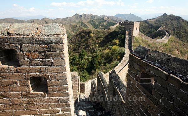 Beijing Jinshanling Great Wall Pictures Travelchinaguide Com Hiking Tours China Travel Beijing
