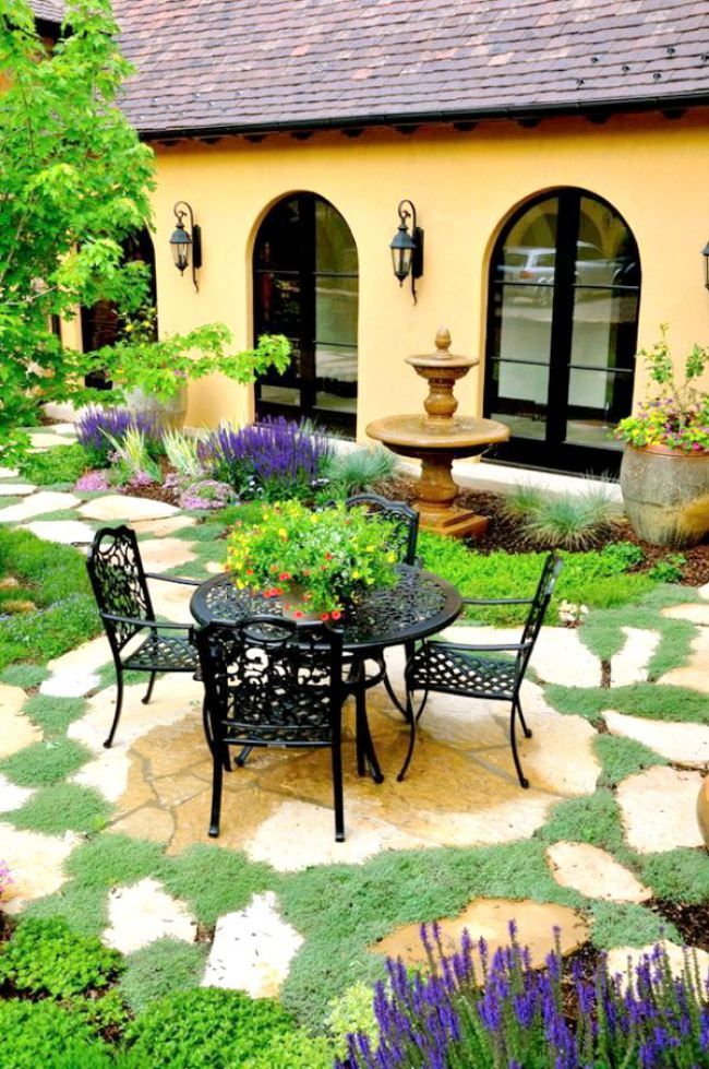 Mediterranean Outdoor Decor Garden Flowers Plants Vegetation More Similar Plicture On The Website Click To See Thank You