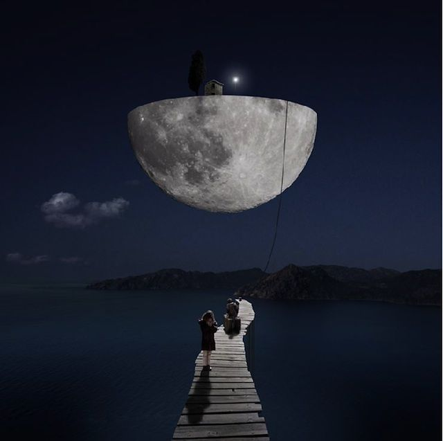 The Sweetest Surreal Photography 18 Photos Surrealism Photography Surrealism Photo Art Frame
