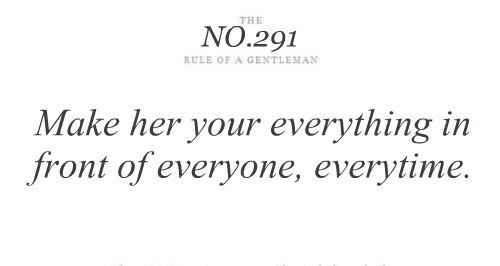 Gentlemen's Rule No. 291.