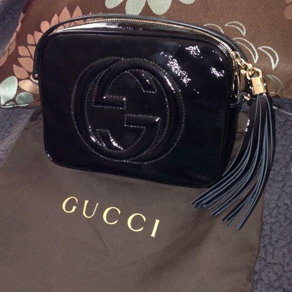 017fe094d0f Gucci Soho Disco Bag- black patent leather Gucci Soho Disco bag. Black  patent leather