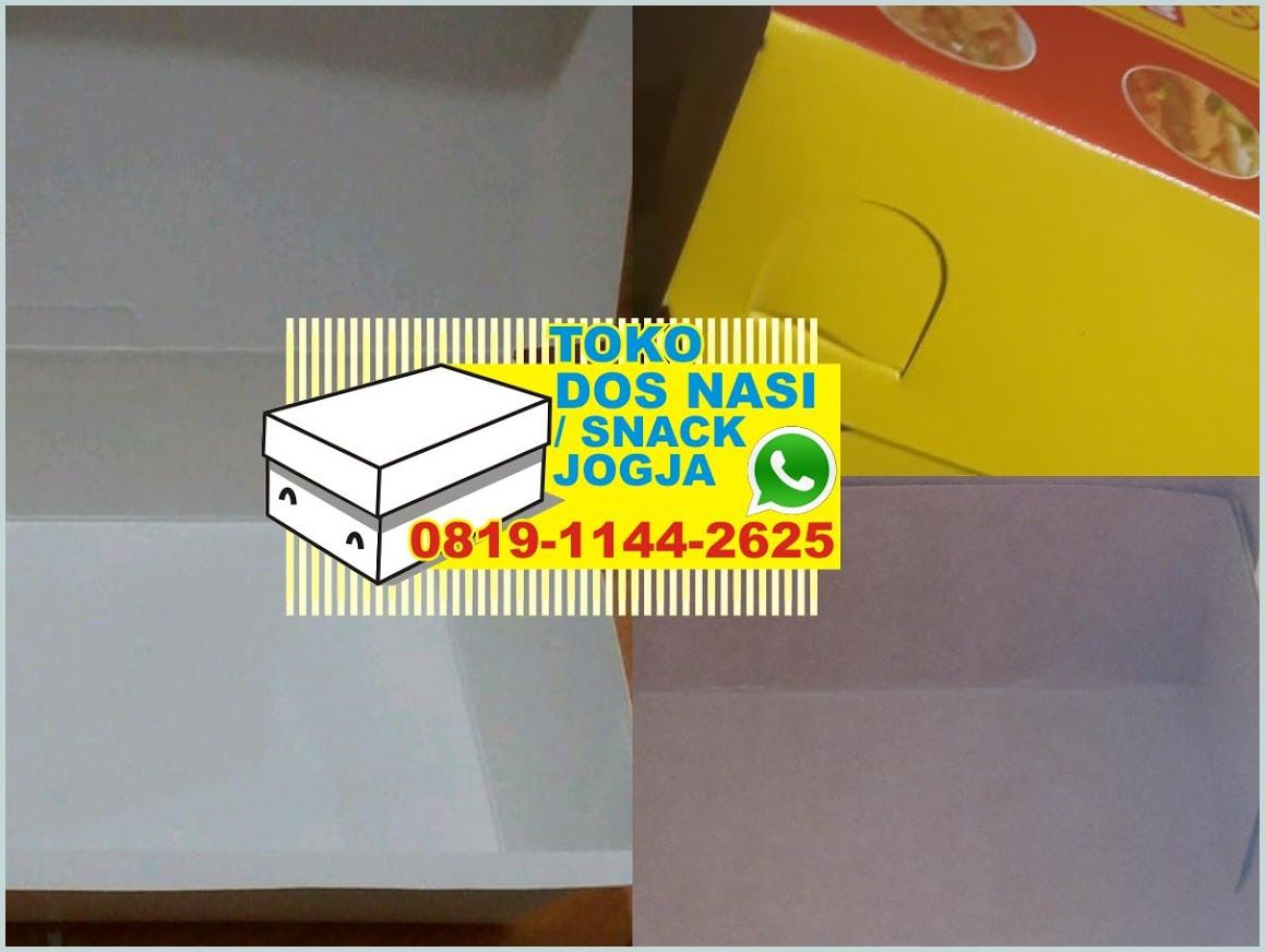 Desain Kardus Nasi Kertas Untuk Box Nasi Grosir Kardus Nasi Jogja