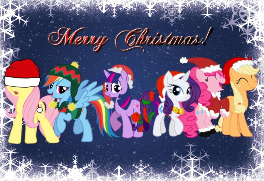My Little Pony Christmas.Mlp Christmas Google Search Random Pins My Little Pony