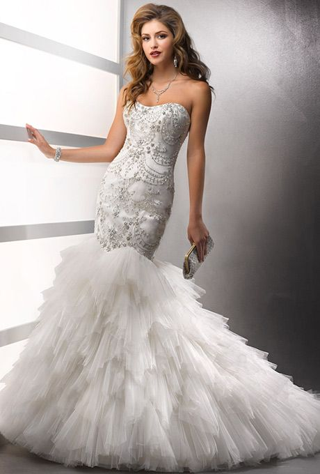 Mermaid Wedding Dresses with Bling | wedding dress that are ...