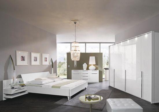 Schlafzimmer Arktis Plus u2022u2022 Hochglanz weiß weiß matt, best aus 6 - schlafzimmer weiss hochglanz