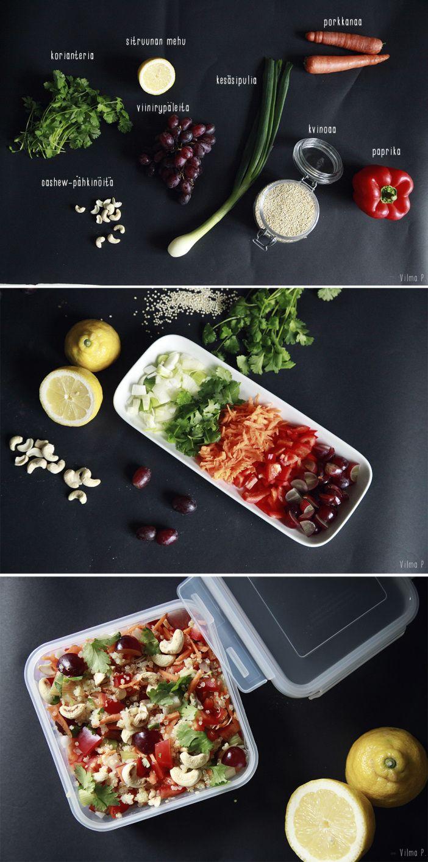 Värikäs kvinoasalaatti - Vilma P.