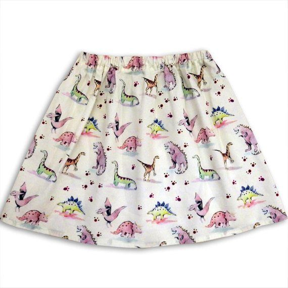 a41cee000a48 Girl's Dinosaur Skirt | Products | Girl dinosaur, Kids outfits, Skirts