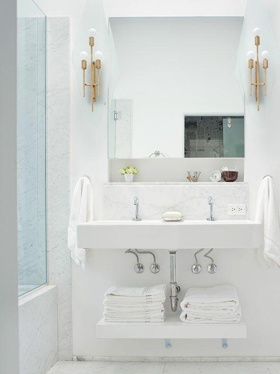 Kluge Ideen Fur Badezimmer Design Stauraum Organisieren