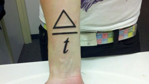 Ahburr New Tattoo Delta Over T Change Over Time Awesome I