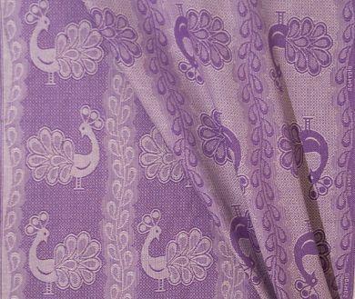 Didymos Violet Linen Pfau - Woven wrap size 2 Linen Blend Didymos manufacturer site: http://www.didymos.de/en/
