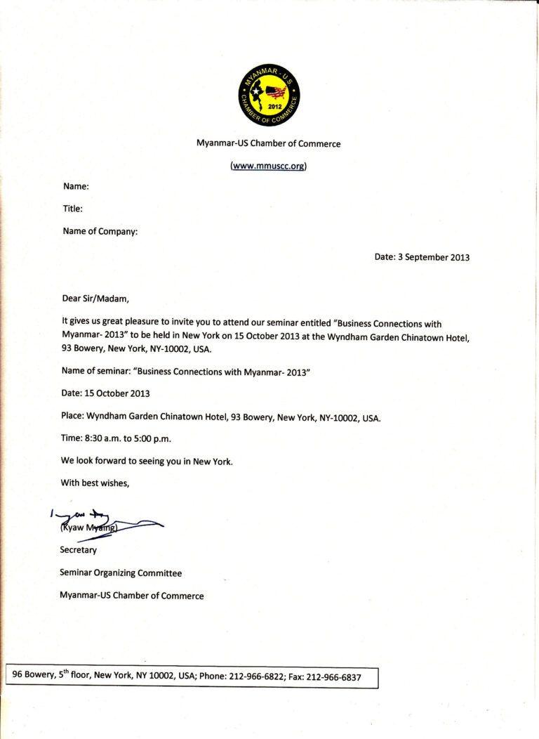 Pinanggunstore Invitation With Seminar Invitation Card