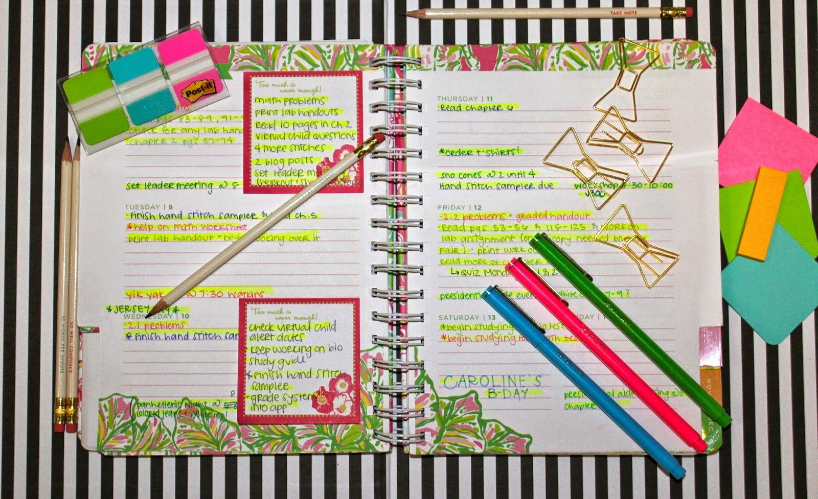 Prep In Your Step Agenda Organization Tips  Tricks  Prep
