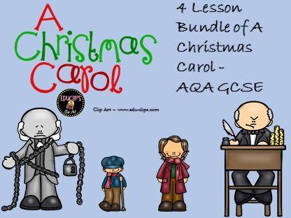 A Christmas Carol. 4 lessons. GCSE 9-1 & SOW | Christmas carol, Gcse english literature, Lesson ...