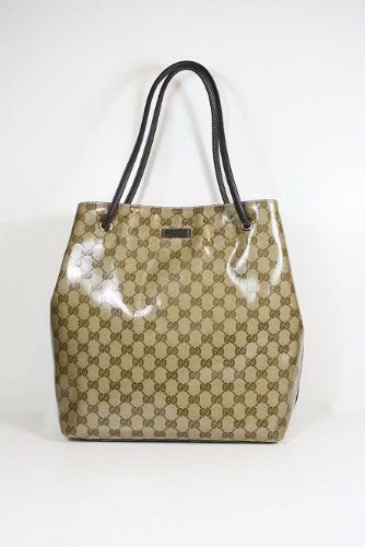 79d41c7cb6b Gucci Handbags Crystal (Coating) Beige and Brown Leather 257275 ...