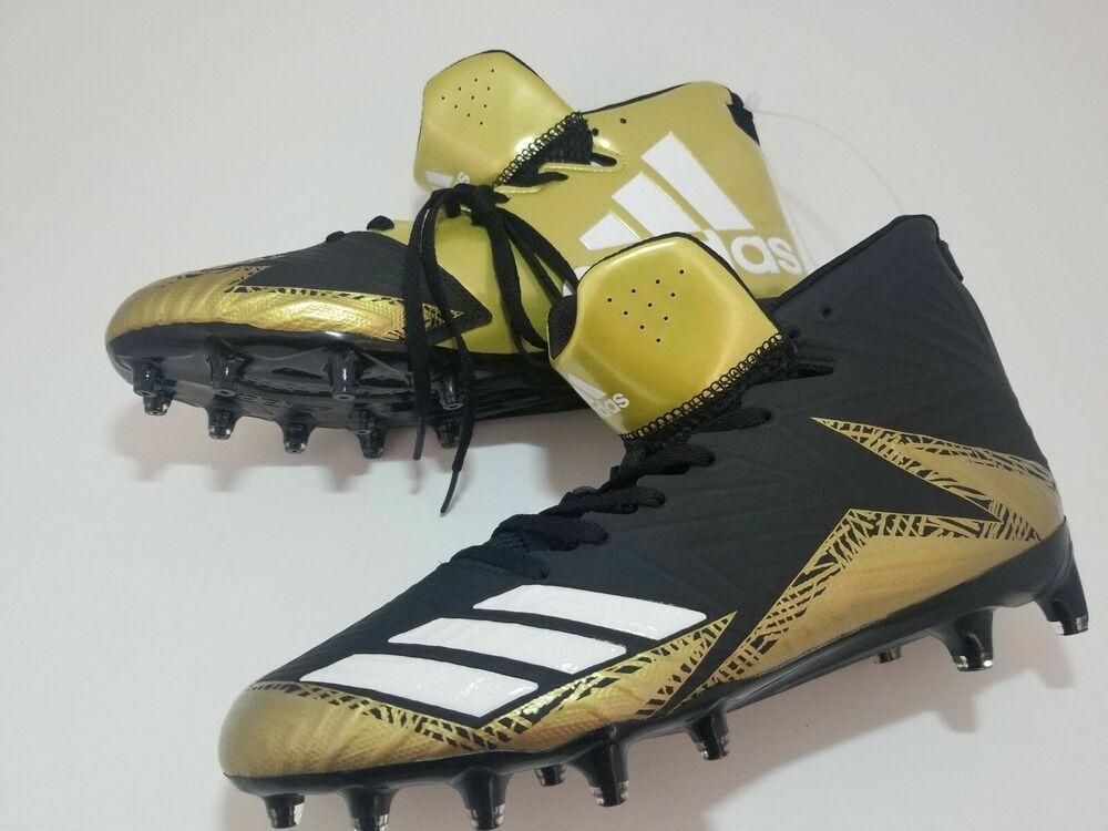 Adidas freak x carbon molded cleats blackgold us men size