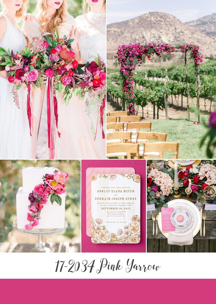 Top 10 Spring Wedding Colours For 2017 From Pantone Part Ii