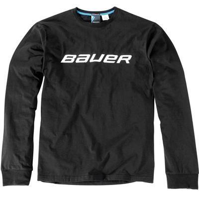 Bauer Hockey Long Sleeve Shirt Senior Pure Hockey Equipment Hockey Clothes Hockey Outfits Sports Attire