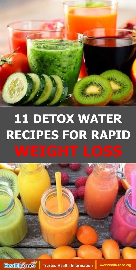 11 Detox Water Recipes For Weight Loss Detox water is one of the most popular tools for weight loss to come around in a long time and for great reasons Here are 11 best d...