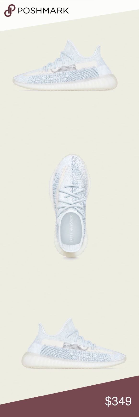 Adidas Yeezy Boost 350 V2 Cloud White Non Reflect adidas