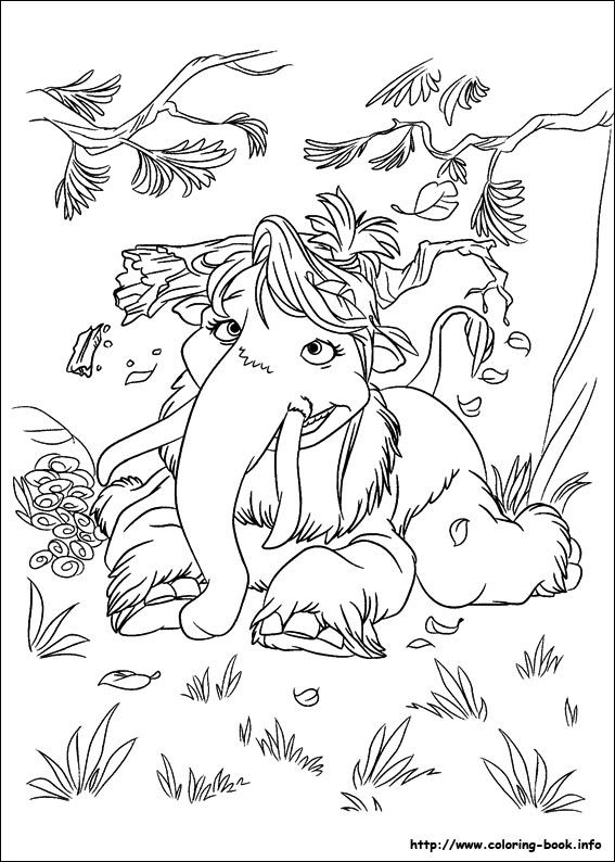 Ice Age : Continental Drift coloring picture | ice age | Pinterest ...