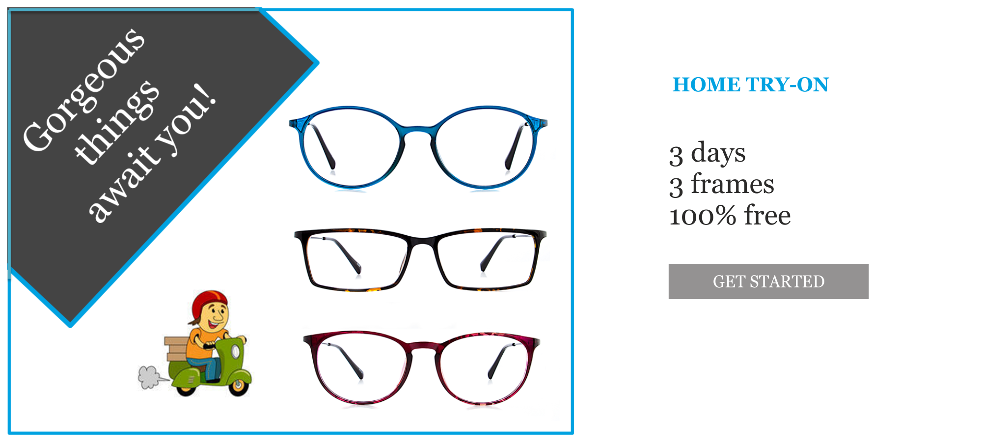Buying eyeglasses has never been so easy, thanks to our Home Try-On ...