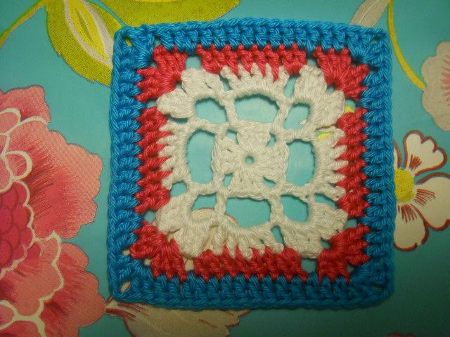 open granny square