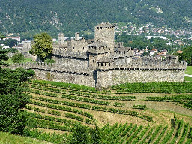 Castello di Montebello, Bellinzona, Switzerland (UNESCO WHS) | Flickr - Photo Sharing!