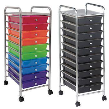 Costco 10 Drawer Mobile Organizer Drawers Organization Cart