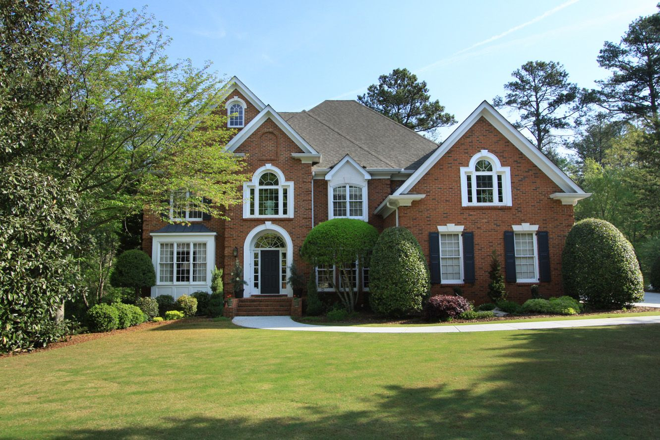 Brick houses beautiful brick home in sought after neely for Beautiful brick and stone homes