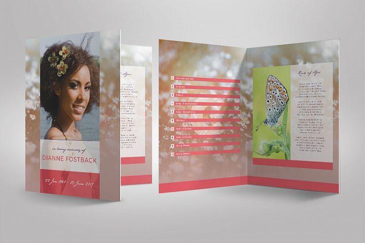 Pin lisääjältä Godserv Designs taulussa Funeral Program Templates - funeral service program template word