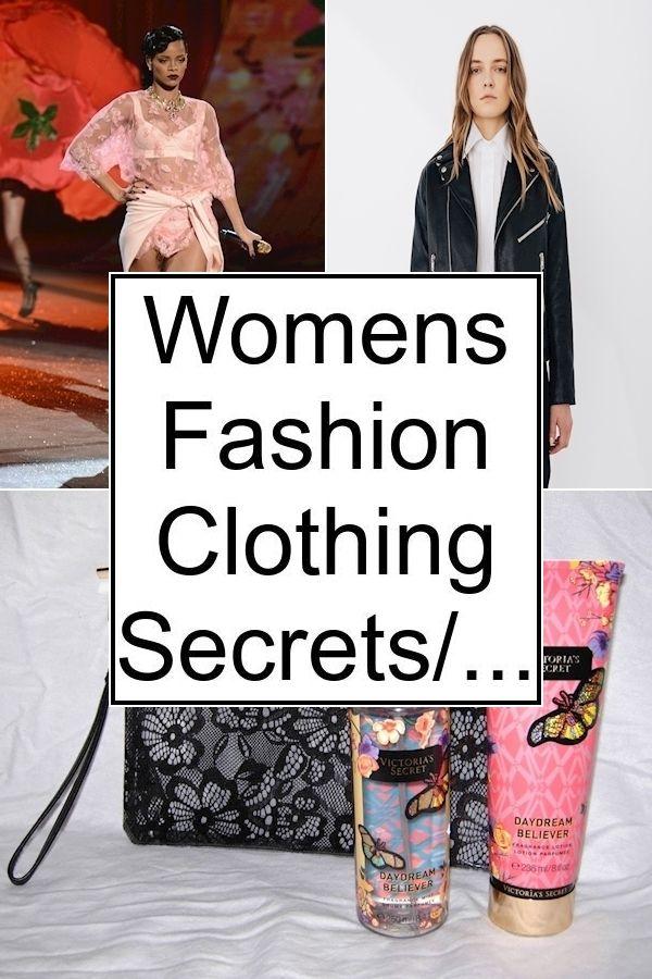Womens Fashion Clothing Secrets/