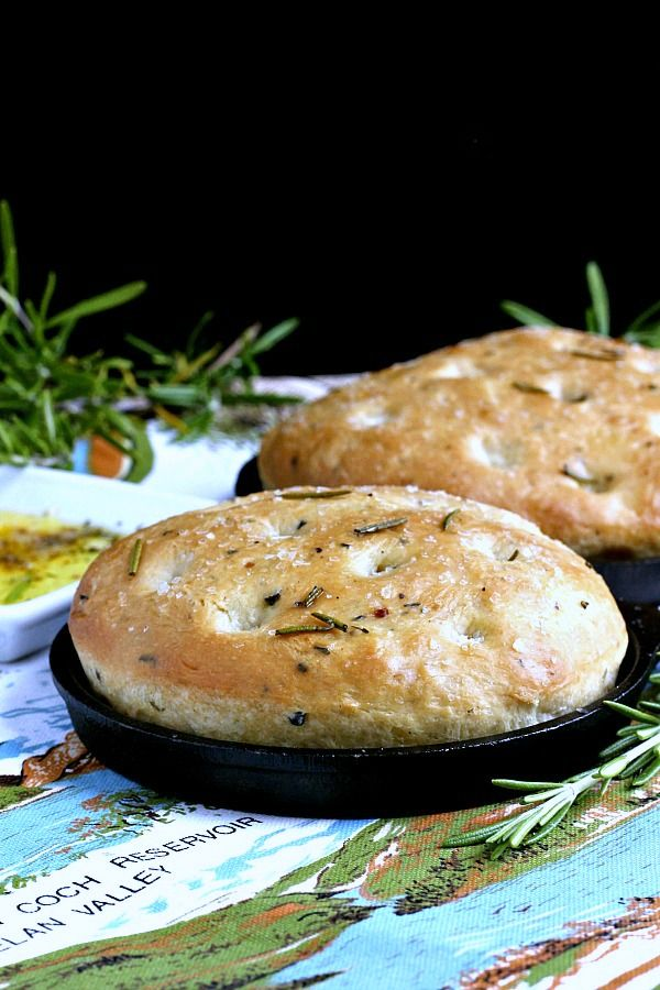 Rosemary Focaccia From Dough Made In A Bread Machine Bread