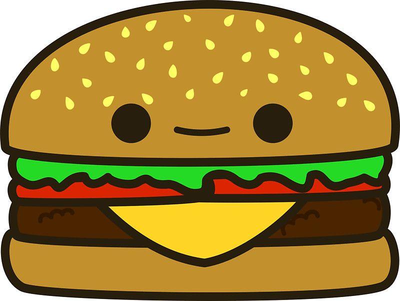Resultado De Imagem Para Kawaii Hamburger Dibujos Kawaii