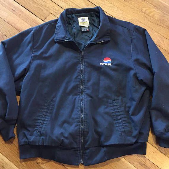 Vintage Pepsi Delivery Driver Jacket