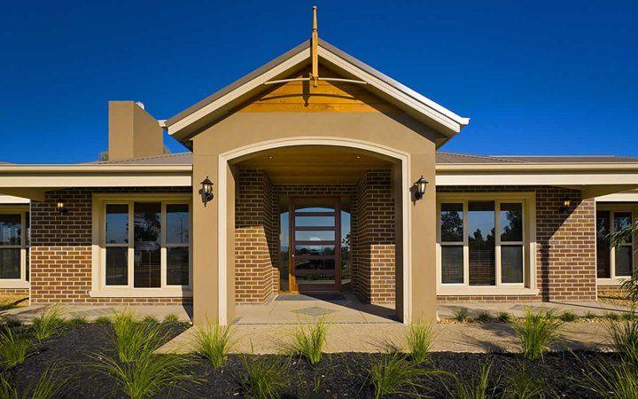 Denver colonial facade 04 new home designs metricon for Metricon new home designs