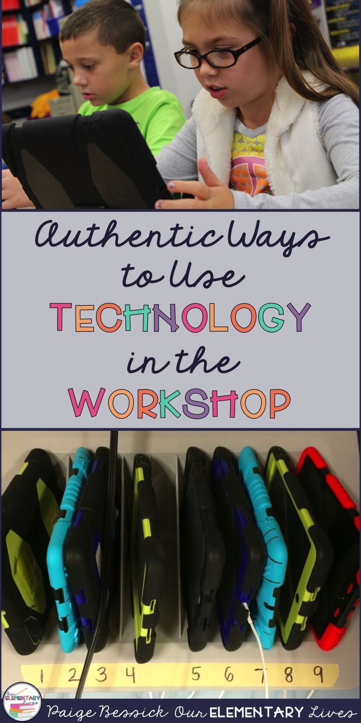Everything you need to know about using technology in the reading and writing workshop!  This blog post gives resources, ideas for organization and actual activities you can do with technology in the elementary classroom.  Using the apps Seesaw, Chatterpix, Pic Collage, Epic! and more, use these easy to use activities with 1:1 iPads or if you just have one iPad in your classroom!  This is a great resource!