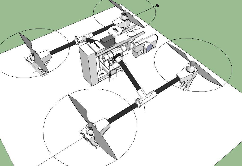 Projeto drone inicial