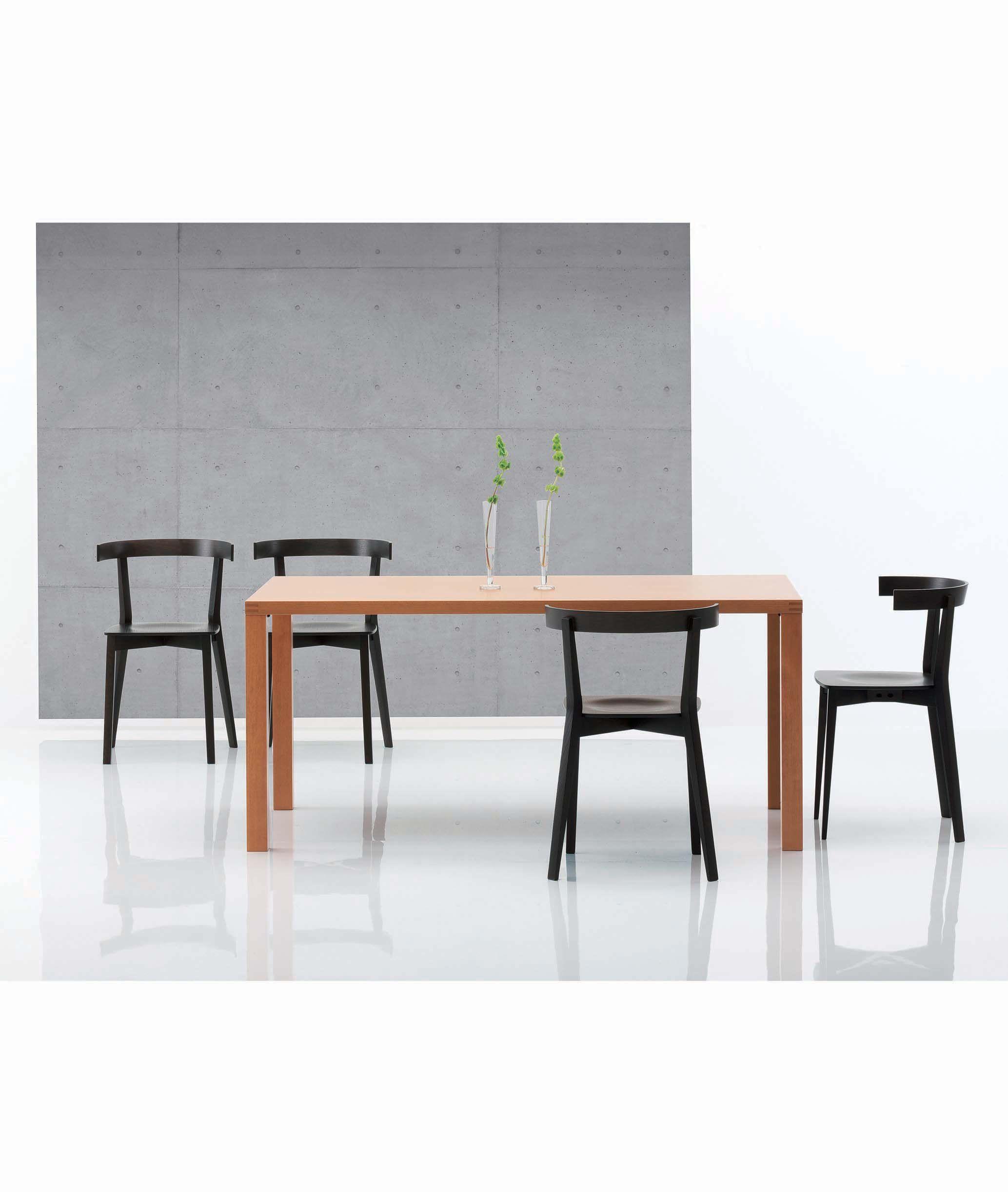 Table À Manger Japonaise coco chair high design solid oak wood japanese chair